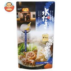 トリゼンフーズ 博多華味鳥 水たきスープ 600g×10袋入