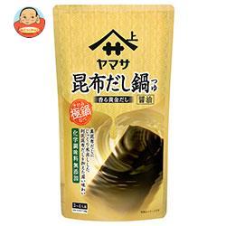 ヤマサ醤油 極鍋 昆布だし鍋つゆ醤油 750gパウチ×12袋入