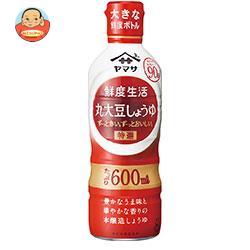 ヤマサ醤油 鮮度生活 特選丸大豆しょうゆ 600mlペットボトル×12本入