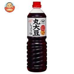 ヤマサ醤油 丸大豆しょうゆ 1Lペットボトル×6本入