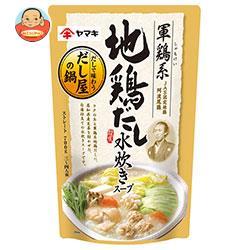ヤマキ 軍鶏系地鶏だし 水炊きスープ 700g×12袋入