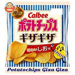 カルビー ポテトチップス ギザギザ 味わいしお味 60g×12個入