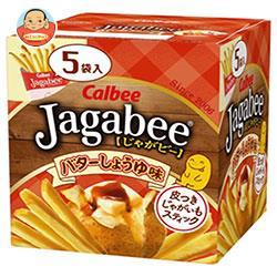 カルビー Jagabee(じゃがビー) バターしょうゆ味 80g×12箱入