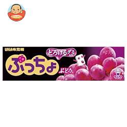 UHA味覚糖 ぷっちょスティック ぶどう 10粒×10個入