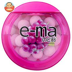 UHA味覚糖 UHAピピン e-maのど飴 容器 (グレープ) 33g×6個入