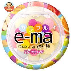 UHA味覚糖 UHAピピン e-maのど飴 容器 (カラフルフルーツチェンジ) 33g×6個入