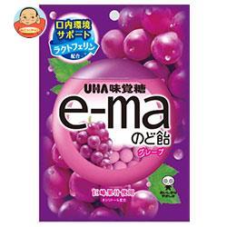 UHA味覚糖 UHAピピン e-maのど飴 袋 (グレープ) 50g×6袋入