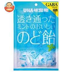 UHA味覚糖 透き通ったミントのおいしいのど飴 92g×6袋入