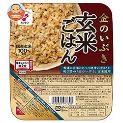 たいまつ食品 金のいぶき 玄米ごはん 160g×24(6×4)個入
