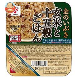 たいまつ食品 金のいぶき 玄米と十五穀ごはん 160g×24(6×4)個入