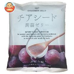 チアシード蒟蒻ゼリー ぶどう味 10個×12袋入