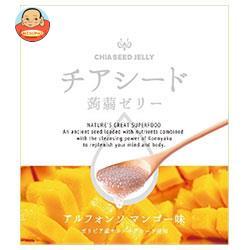 チアシード蒟蒻ゼリー アルフォンソマンゴー味 10個×12袋入