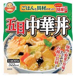 丸美屋 五目中華丼 ごはん付き 305g×6個入