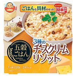 丸美屋 五穀ごはん 3種のチーズクリームリゾット 220g×6個入