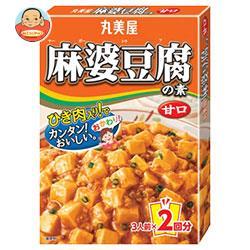 丸美屋 麻婆豆腐の素 甘口 162g×10箱入