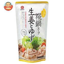 宮島醤油 糀鍋スープ 生姜とゆず(ストレート) 720g×10袋入