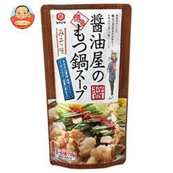 宮島醤油 醤油屋の博多もつ鍋スープみそ味 720g×10袋入
