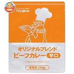 宮島醤油 オリジナルブレンドビーフカレー辛口 200g×40袋入