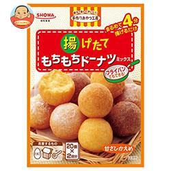昭和産業 (SHOWA) 揚げたてもちもちドーナツミックス (110g×2袋)×6箱入