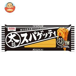 昭和産業 (SHOWA) 太麺スパゲッティ2.2mm 500g×30袋入