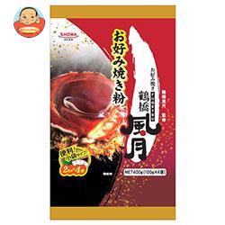 昭和産業 (SHOWA) 鶴橋風月お好み焼き粉 400g×12袋入