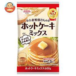 昭和産業 (SHOWA) 小麦粉屋さんのホットケーキミックス 600g(200g×3袋)×20袋入