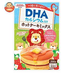 昭和産業 (SHOWA) DHA入りホットケーキミックス 200g×8個入