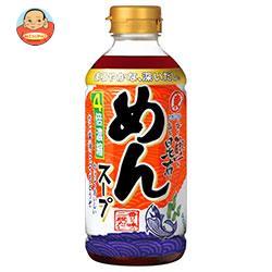 ヒガシマル醤油 めんスープ 4倍濃縮 400mlペットボトル×12本入