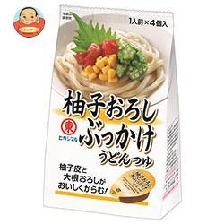 ヒガシマル醤油 柚子おろしぶっかけうどんつゆ 4個×12袋入