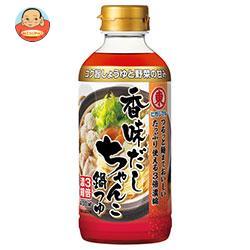 ヒガシマル醤油 香味だしちゃんこ鍋つゆ 3倍濃縮 400mlペットボトル×12本入