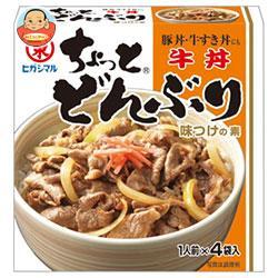 ヒガシマル醤油 ちょっとどんぶり 牛丼 (13g×4袋)×10箱入