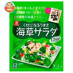 理研ビタミン くせになるうまさ海草サラダ(ノンオイルうま塩付き) (乾燥具材10g、ドレッシングタイプ調味料30g)×10袋入
