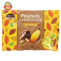モントワール ひとくちチョコレート ピーナッツ 162g×12袋入