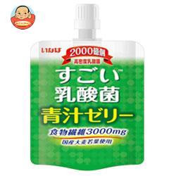 いなば食品 すごい乳酸菌 青汁ゼリー 180gパウチ×30(6×5)本入
