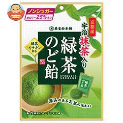 扇雀飴本舗 緑茶のど飴 100g×6袋入