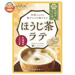 扇雀飴本舗 ほうじ茶ラテCANDY(キャンデー) 80g×6袋入