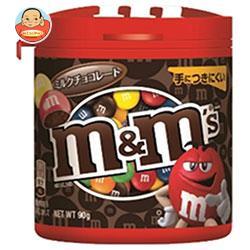 マースジャパン M&M'S(エム&エムズ) ボトルミルクチョコレート 90g×4個入
