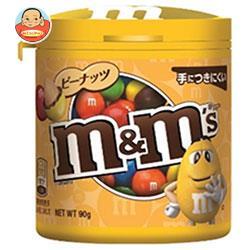 マースジャパン M&M'S(エム&エムズ) ボトルピーナッツ 90g×4個入