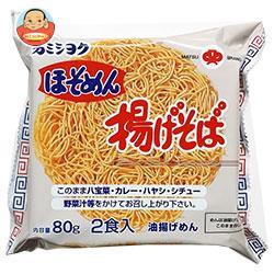 加美食品 ほそめん 揚げそば80g(40g×2)×18袋入