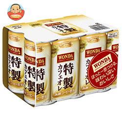 【賞味期限19.04】アサヒ飲料 WONDA(ワンダ) 特製カフェオレ (6本パック) 185g缶×30(6×5)本入
