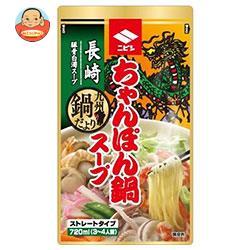 ニビシ醤油 長崎ちゃんぽん鍋スープ 720ml×10袋入