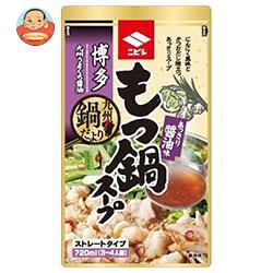 ニビシ醤油 博多もつ鍋スープ 醤油味 720ml×10袋入
