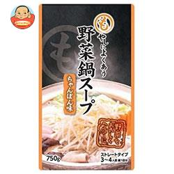 アドバンス もやしによくあう 野菜鍋スープ ちゃんぽん味 750g×16袋入