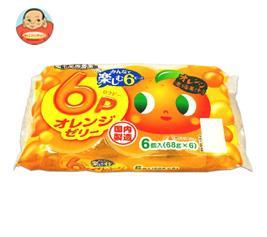 和歌山産業 蔵王高原農園 6P オレンジゼリー 408g(68g×6)×6袋入