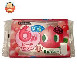 和歌山産業 蔵王高原農園 6P ピーチゼリー 408g(68g×6)×6袋入