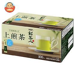 AGF 新茶人 宇治抹茶入り上煎茶 スティック 0.8g×100P×10箱入