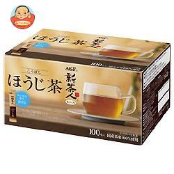 AGF ブレンディ ティー・シリーズ 新茶人 こうばしほうじ茶 0.8g×100P×10箱入