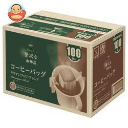 AGF ちょっと贅沢な珈琲店 レギュラー・コーヒー コーヒーバッグ キリマンジャロ・ブレンド 7g×100P×6箱入