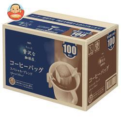 AGF ちょっと贅沢な珈琲店 レギュラー・コーヒー コーヒーバッグ スペシャル・ブレンド 7g×100P×6箱入