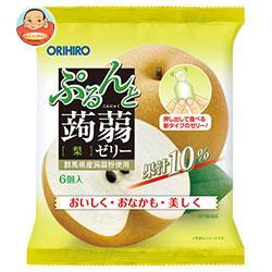 オリヒロ ぷるんと蒟蒻ゼリー 梨 20g×6個×24袋入